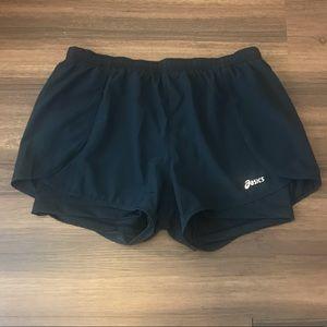 Asics Black Shorts